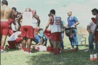 Atleta que já jogou no Treze tem parada cardíaca e morre durante treino - Veja mais informações sobre a morte do jogador Neto Maranhão e os jogos da segunda rodada do Campeonato Paraibano.