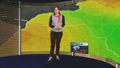 Confira a previsão do tempo para São Carlos e região nesta quinta-feira (10) - Confira a previsão do tempo para São Carlos e região nesta quinta-feira (10).