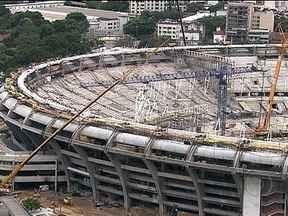 Maracanã atrasa as obras e prevê entrega para 28 de maio - Com 80% já concluído, estádio da final da Copa das Confederações deve ser entregue quase na estreia do torneio.