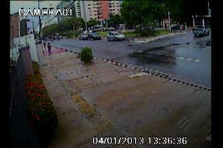 Câmeras de segurança flagram tentativa de homícidio em Belém - Edivaldo Venturieri foi atingido por disparos na última sexta-feira, 4.