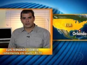 Dr. Luís Fernando Correia explica como se proteger da gripe que assusta os EUA - Segundo o comentarista de saúde, a vacina aplicada no Brasil, de abril a junho, dá proteção contra os três tipos de vírus que circulam pelos Estados Unidos. Vacina começa a ter eficiência sete dias após a aplicação.