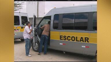 Vistoria de transporte escolar chega ao interior de Pernambuco - Na Região Metropolitana do Recife, a vistoria acontece somente aos sábados.