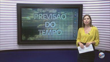 Confira a previsão do tempo para Campinas e região - Confira como fica a previsão do tempo para Campinas e região nesta segunda-feira.