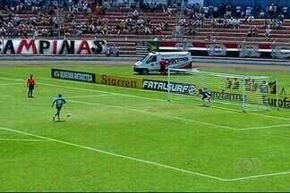 Goiás elimina São Paulo da Copinha nos pênaltis - Equipe garantiu vaga nas semifinais da 44ª edição da Copa São Paulo de Futebol Júnior. Time goiano eliminou a equipe da casa, São Paulo.