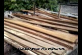 Serraria clandestina é desarticulada na zona rural de Barcarena, PA - Dono da terra onde aconteciam as atividades ilegais foi ouvido pela polícia.