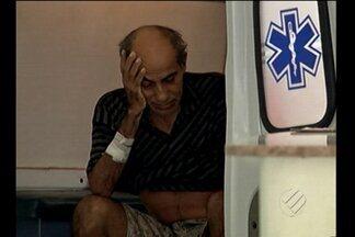 Paciente idoso morre depois de esperar por atendimento - Idoso foi transferido para Belém, mas teve que voltar a cidade de origem.