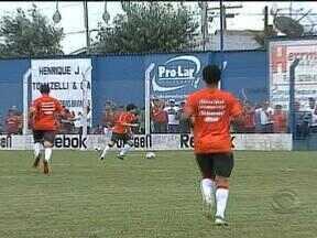 Inter vence jogo-treino em Gramado - Argentinos ditaram ritmo do jogo.