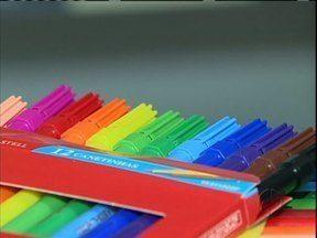 Preços de material escolar tem diferença de mais de 100% - A pesquisa do Procon pesquisou mais de 200 ítens.