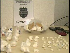 A polícia de Maringá apreende quase um quilo de cocaína - A droga estava dentro do painel de um carro