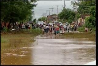 Defesa Civil registra maior volume de chuvas em Montes Claros desde 1970 - A região baixa da cidade foi a mais atingida.