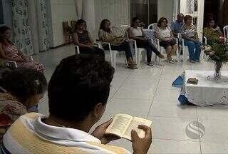 Dia de Combate a Intolerância Religiosa é celebrado por fieis em Sergipe - O dia de Combate as Intolerância Religiosa foi celebrada nesta segunda-feira (21) por seguidores de duas crenças religiosas em Aracaju. Denuncias contra perseguições religiosas aumento em 600% no Brasil.