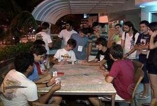 Jovens de diferentes partes do Brasil estão em Sergipe para Olimpíada de Matemática - Os jovens de diferentes estados do Brasil estão em Aracaju (SE) para participar da 16º Semana Olímpica de Matemática. Conheça agora um pouco das atividades desses garotos longe dos livros.