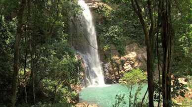 Conheça a maravilha natural da cachoeira da serra azul em Nobres - O É Bem Mato Grosso começa às 13h50, todos os sábados, na TV Centro América.