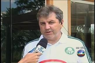 Gilson Kleina espera torcida do Palmeiras 'mais paciente' no interior de São Paulo - Palmeiras encara o Oeste em Rio Preto e foi bem recebido pelos torcedores da cidade.