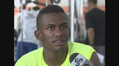 Reforço do São Raimundo-AM, Maicon Freitas quer se destacar no Amazonense - Reforço do São Raimundo-AM, meia Maicon Freitas quer se destacar no Campeonato Amazonense.