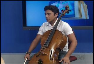 Jovem de 14 anos é destaque da música clássica no Ceará - Jovem de 14 anos é destaque da música clássica no Ceará. O violoncelista Ítalo Rafael representou os cearenses no festival Eleazar de Carvalho, em São Paulo.