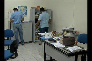 Polícia ainda investiga assalto a ouvidoria de Segurança Pública do Estado - Dois homens armados fizeram pelo menos dez funcionários reféns e roubaram dinheiro, jóias e telefones celulares.