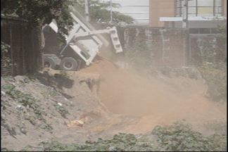JPB2JP: Semam embarga obra na Capital - Denúncia de aterro em rio