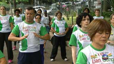 Estão abertas inscrições para grupos de ginástica oriental em espaços de Belo Horizonte - A atividade física ajuda a aliviar tensões musculares.