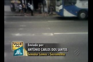 Faixa cidadã na avenida Senador Lemos está apagada e preocupa pedestres - Telespectador denunciou o problema.
