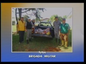 170 quilos de carne apreendidos em São Nicolau - Brigada Militar e Inspetoria Veterinária fizeram a apreensão em um estabelecimento comercial
