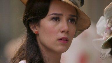 Lado a Lado - Capítulo de Sexta-feira, dia 25/01/2013, na íntegra - Laura sente ciúmes ao acreditar que Edgar esteja com outra mulher