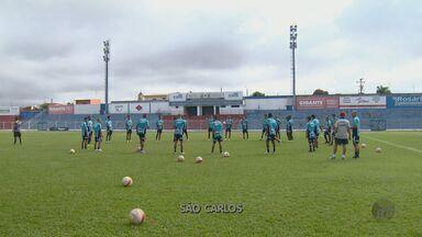 São Carlos treina em clima de mistério para confronto com a Ferroviária - São Carlos treina em clima de mistério para confronto com a Ferroviária.