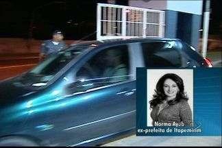 TJ-ES determina soltura de ex-prefeita presa na Operação Derrama - Norma Ayub, ex-prefeita de Itapemirim, foi presa após a 'Operação Derrama'.