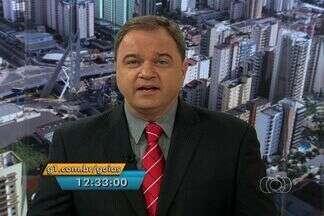 Confira os destaques do JA 1 edição deste sábado (26) - Um casal é preso suspeito de particpar de explosão a caixas eletrônicos em Goiás.