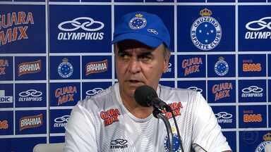 Cruzeiro já está definido para enfrentar o Mamoré - Marcelo Oliveira já tem na cabeça o time para o amistoso contra o Mamoré, neste domingo, em Patos de Minas. A partida terá transmissão exclusiva da TV Globo Minas.