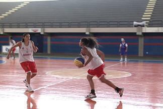 Maranhão Basquete finaliza preparação para estreia na LBF - Equipe maranhense estreia na LBF neste domingo contra o Sport, no Ginásio Castelinho