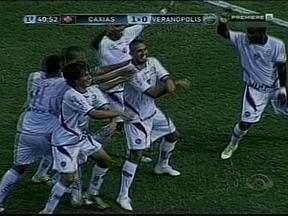 Depois da primeira vitória no Gauchão, Caxias entra no embalo da música Gangnam Style - O jogador Rafael Santiago comemora o gol ao ritmo da música sucesso de 2012.