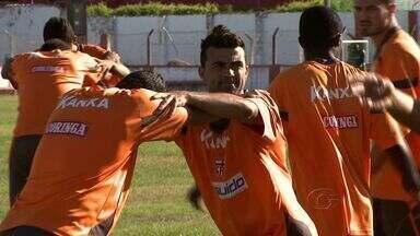CRB está pronto para encarar o Campinense - Jogo deste domingo vale a liderança do Grupo D.