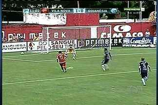 Confira os gols da vitória do Vila Nova sobre o Goianésia pelo Campeonato Goiano - Elcimar e Henrique Dias marcaram os gols da segunda vitória colorada no Campeonato Goiano.