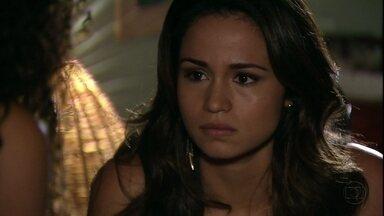 Morena conta para Sheila que foi escravizada na Turquia - A filha de Lucimar acredita que Jéssica foi assassinada por Wanda