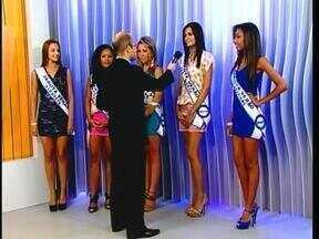 Candidatas da fase regional do Garota Verão são entrevistadas no JA - Vencedora será conhecida neste sábado.