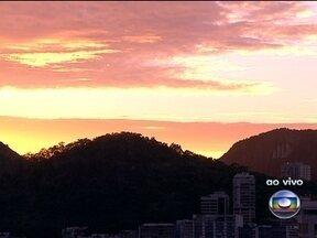 Veja a previsão do tempo para esta quarta-feira (30) - O tempo vai continuar nublado e pode chover a qualquer hora em todo o estado. Influência da zona de umidade que se formou entre a Amazônia e o Sudeste do país.