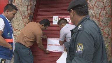 Número de bares e casas noturnas interditados sobe para 41, em Manaus - No segundo dia de fiscalização, 24 estabelecimentos foram interditados.