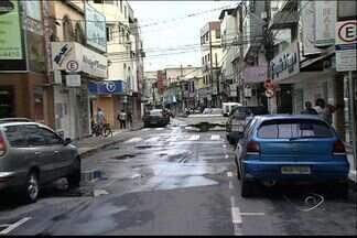 Três lojas são arrombadas em bairro de Vila Velha, ES - Arrombamentos aconteceram dentro de cinco dias.
