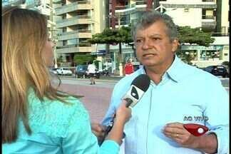 Com 43% dos votos, Orly Gomes é eleito prefeito de Guarapari - Município foi o primeiro do Brasil a ter eleições suplementares em 2013.A apuração terminou às 18h10.