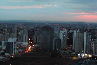 Veja como fica o tempo em Goiânia - A previsão é de chuva no fim do dia. A temperatura máxima não deve passar de 30º e a mínima fica na casa dos 20º.