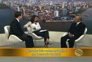 Carlos Valadares fala do trabalho como senador de Sergipe na bancada federal - Durante a entrevista, o senador Valadares falou sobre o Proinveste, eleições de 2014, projetos e votações na bancada federal.