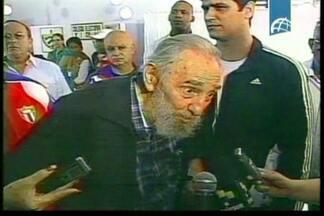 Fidel Castro reaparece em público após dois anos - O ex-líder cubano votou nas eleições parlamentares, na capital Havana. Fidel é um dos 612 candidatos. Os parlamentares eleitos escolherão o presidente. Raúl Castro deve ser eleito para mais cinco anos de mandato.