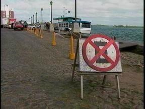 Hidroviária de Rio Grande é interditada - O motivo é a má condição da estrutura no cais.