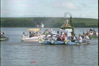 Salto do Jacuí celebra Nossa Senhora dos Navegantes - Data foi comemorada com procissão fluvial e terrestre