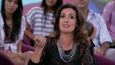 Fátima trabalhou em duas edições do festival e curtiu quatro noites na última - Apresentadora levou os filhos aos shows de seus ídolos