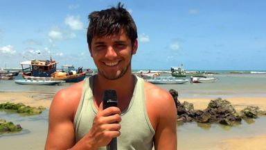 Disciplinado e com o coração de ouro, Bruno Gissoni é o pescador Juliano - Ator interpretará filho adotivo do personagem de Ailton Graça