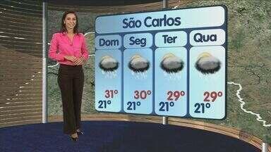Confira a previsão do tempo deste sábado (16) para São Carlos e região - Confira a previsão do tempo deste sábado (16) para São Carlos e região.