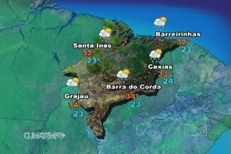 Confira a previsão do tempo para o Maranhão neste sábado (16) - O ar quente e úmido favorece a formação de áreas de instabilidade ainda sobre o Maranhão.
