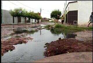Chuva causa prejuízo em Juazeiro do Norte - Em alguns bairros da cidade não há infraestrutura.